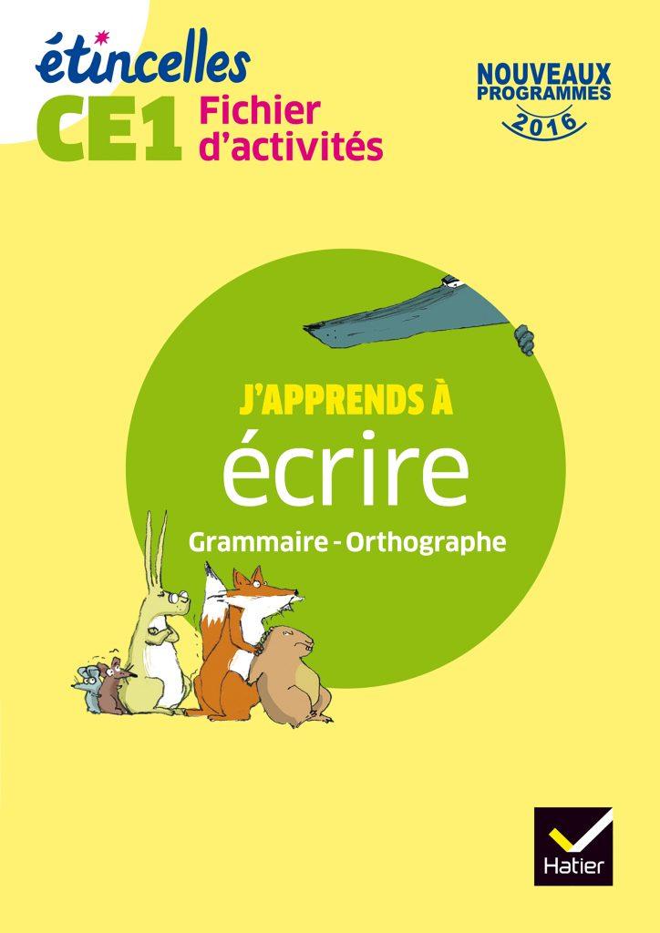 Etincelles - Fichier d'activités CE1