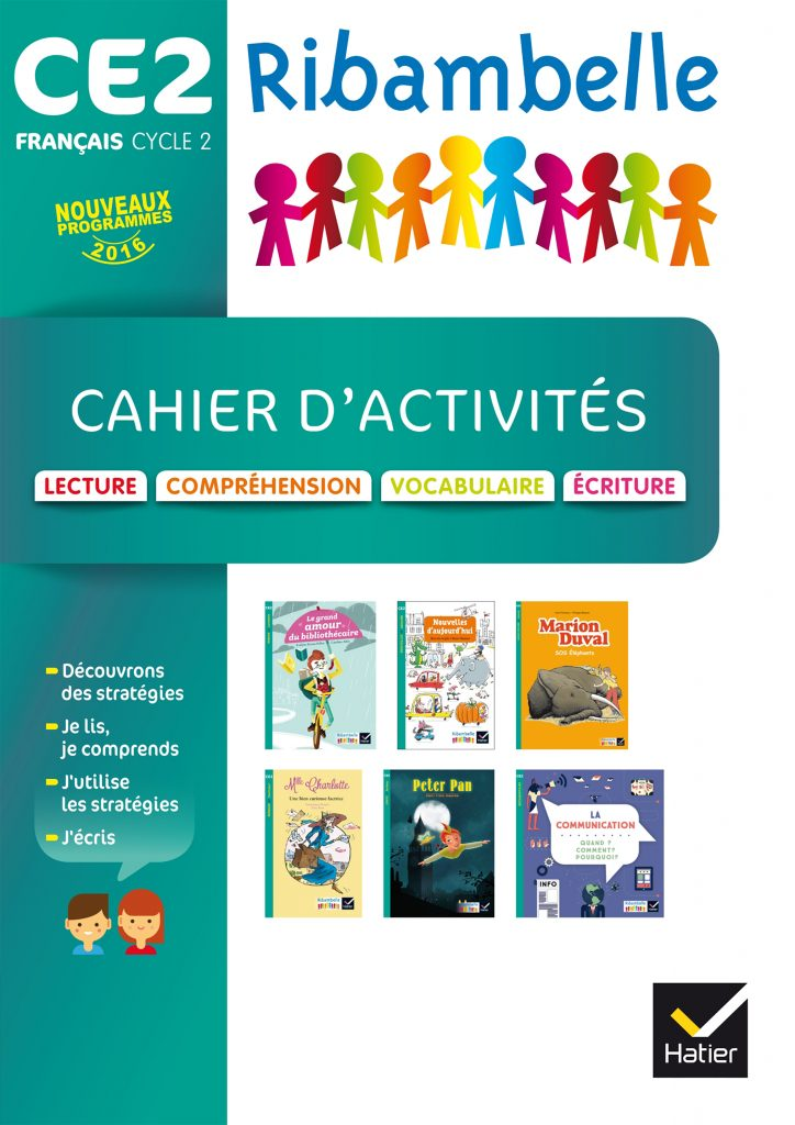 Ribambelle - série turquoise - Cahier d'activités CE2