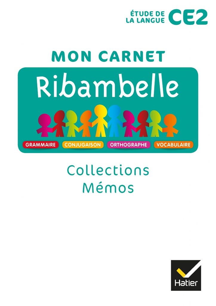 Ribambelle - série turquoise - Mon carnet CE2