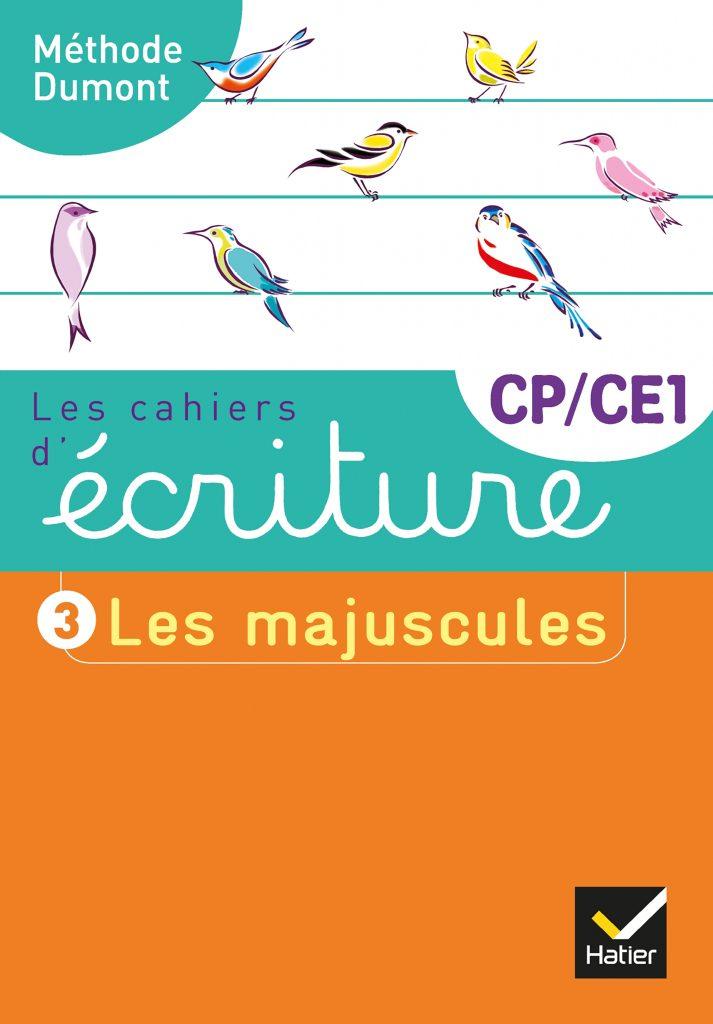 Cahier d'écriture CP/CE1 Les majuscules