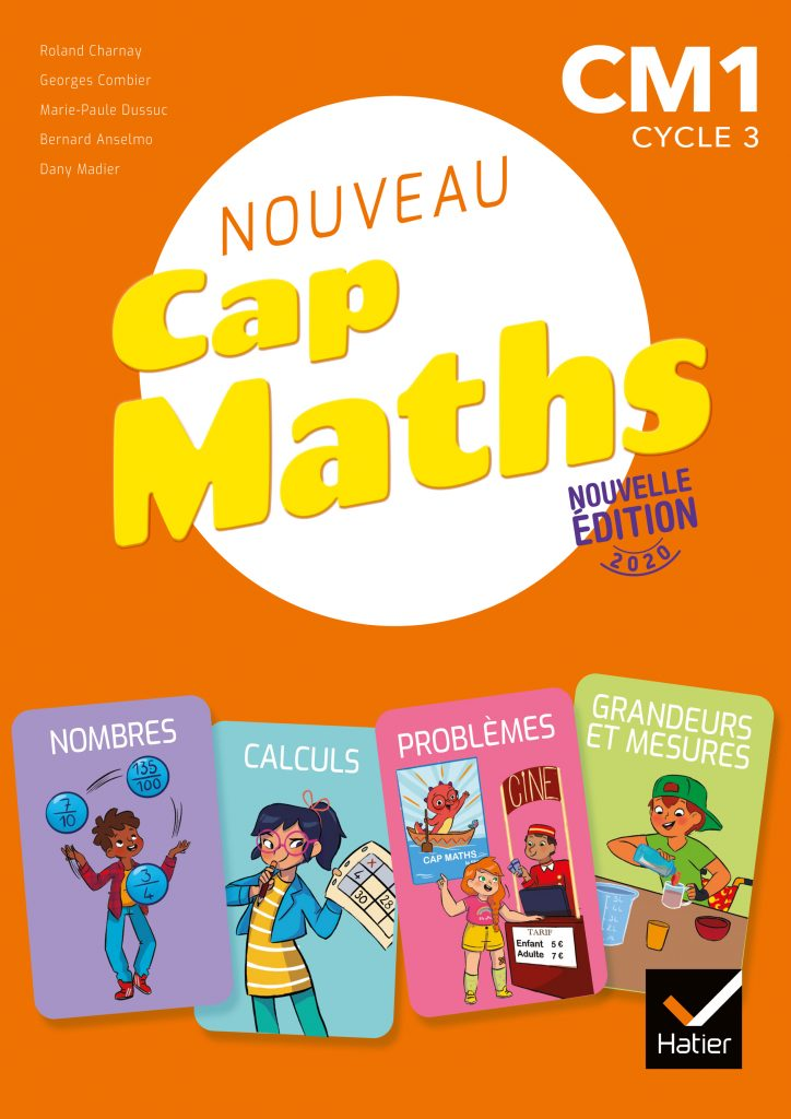 Cap Maths - Manuel CM1
