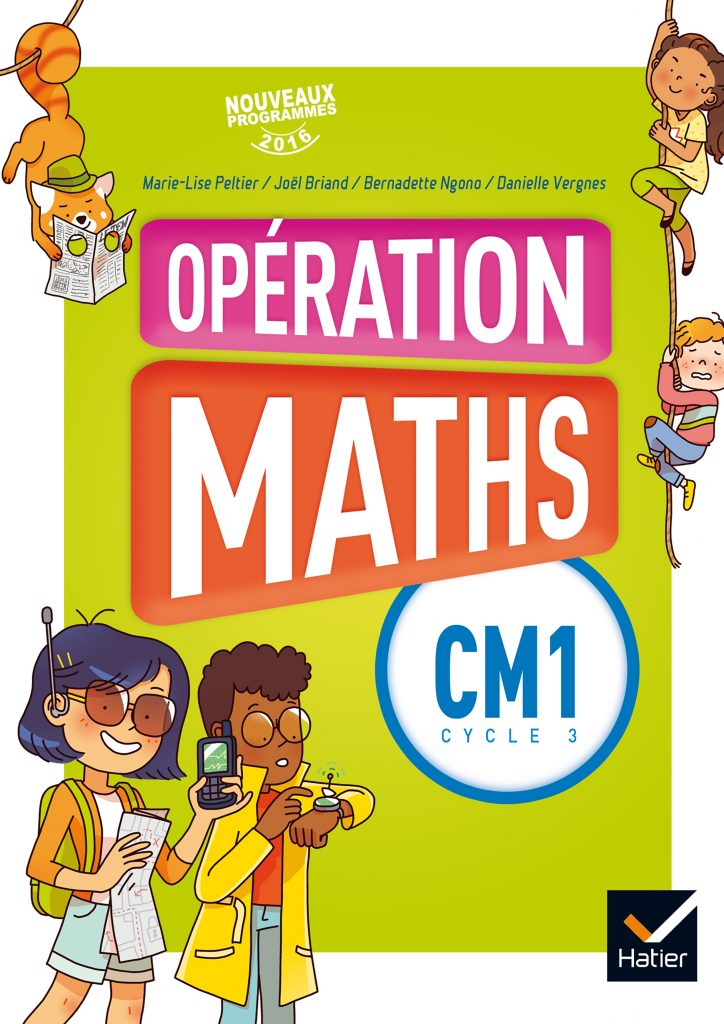 Opération Maths - Manuel CM1