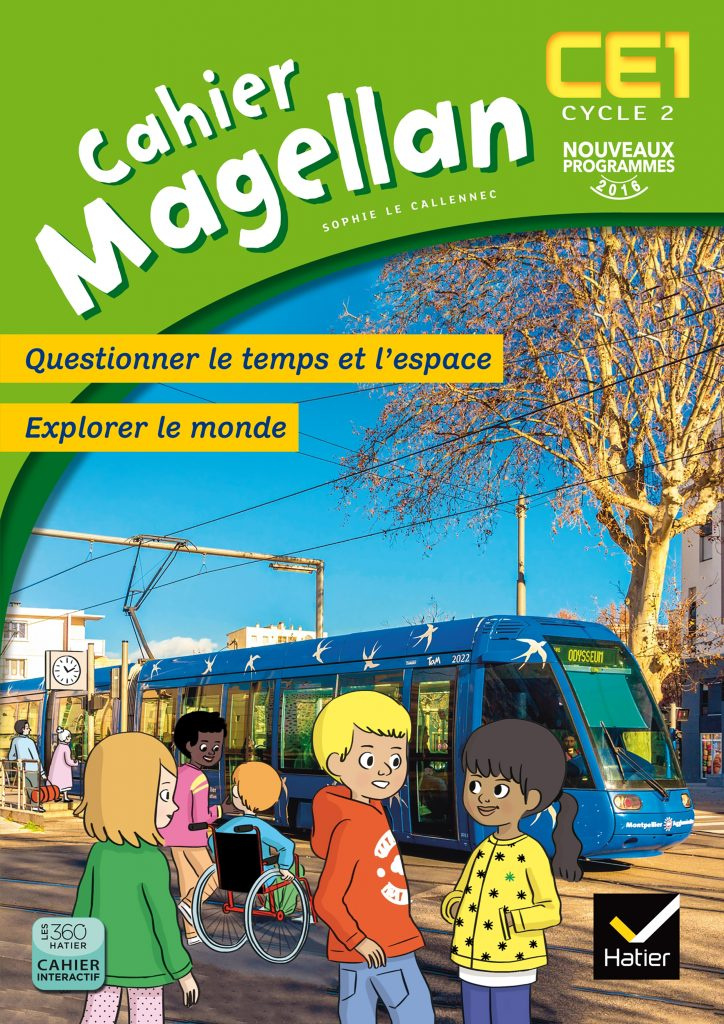 Magellan - Cahier CE1