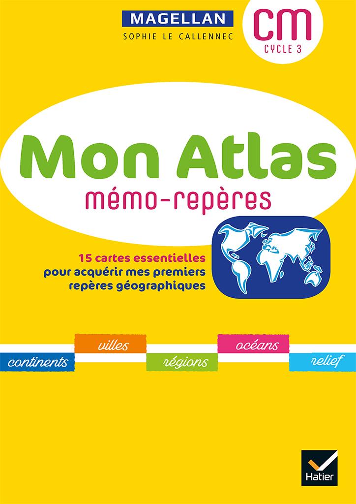 Magellan Géographie - Atlas CM